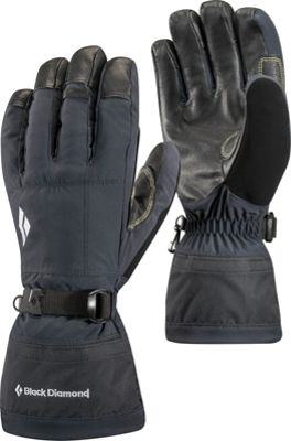 Black Diamond Soloist Gloves L - Black - Black Diamond Ha...