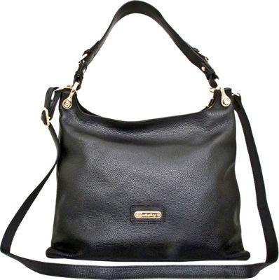 Leatherbay Asmara Tote Black - Leatherbay Leather Handbags