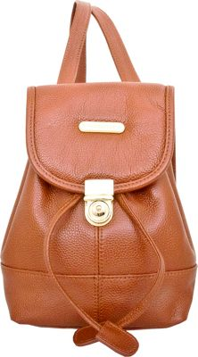 Leatherbay Leatherbay Mini Backpack Dark Brown - Leatherbay Leather Handbags