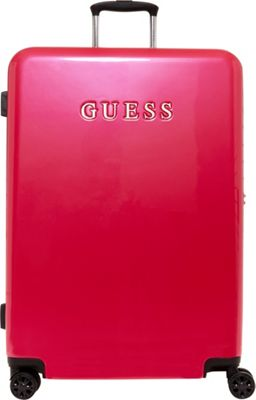 GUESS Travel Mimsy 28 inch Hardside Spinner Checked Luggage Magenta - GUESS Travel Hardside Checked