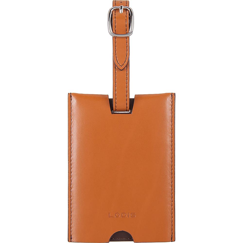 Lodis Audrey RFID Rene Luggage Tag Toffee - Lodis Luggage Accessories - Travel Accessories, Luggage Accessories