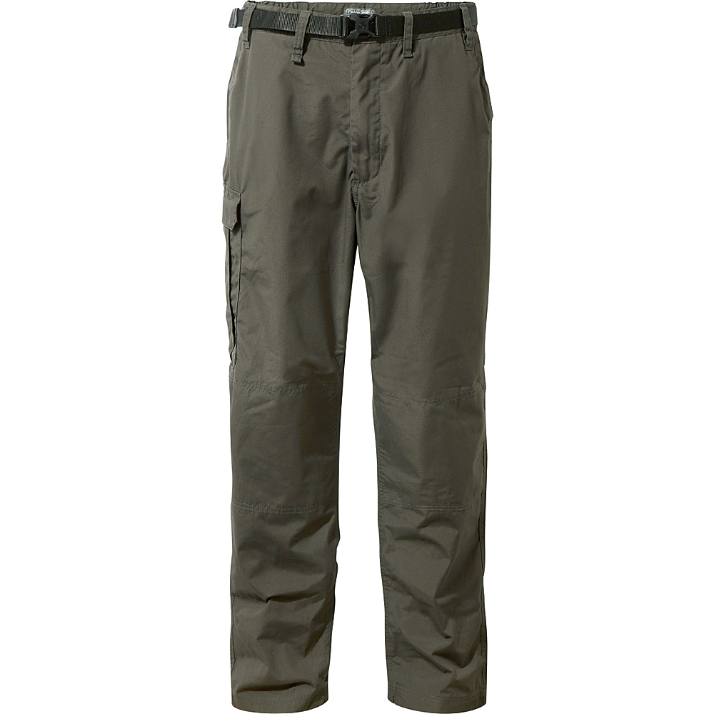 Craghoppers Kiwi Trousers 36 - Regular - Bark - Craghoppers Mens Apparel - Apparel & Footwear, Men's Apparel