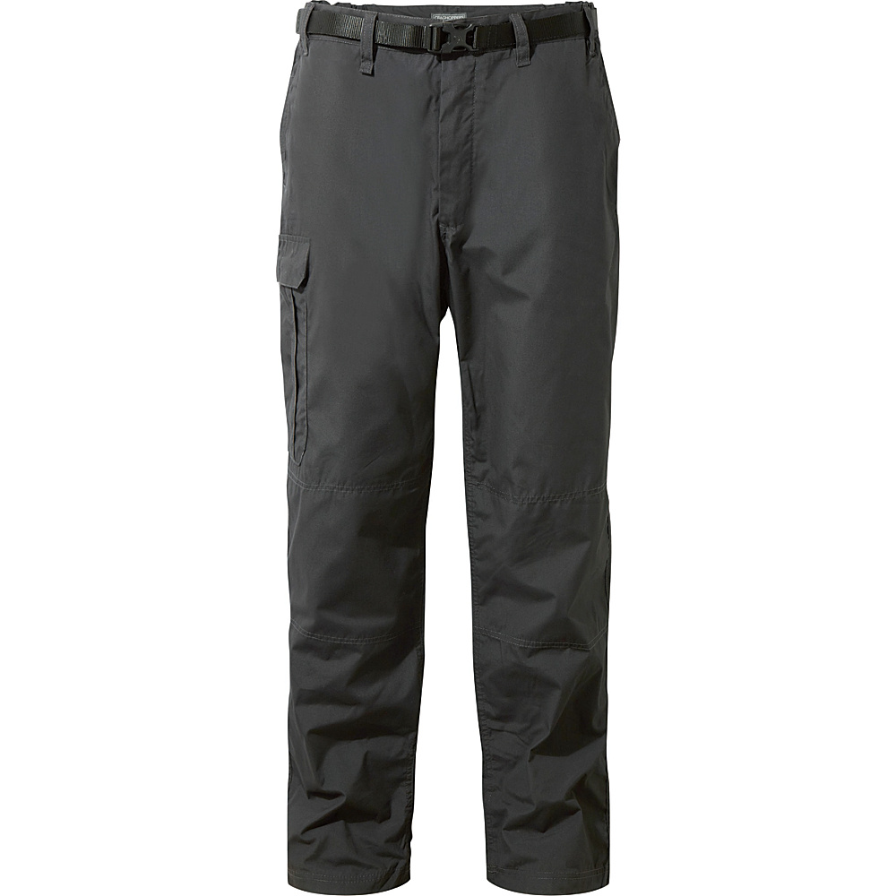 Craghoppers Kiwi Trousers 30 - Regular - Black Pepper - Craghoppers Mens Apparel - Apparel & Footwear, Men's Apparel