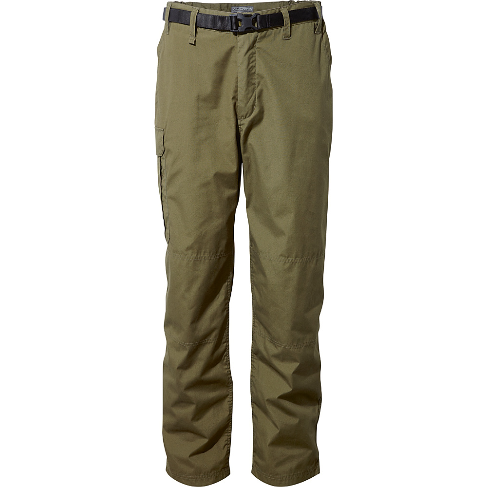 Craghoppers Kiwi Trousers 36 - Short - Dark Moss - Craghoppers Mens Apparel - Apparel & Footwear, Men's Apparel