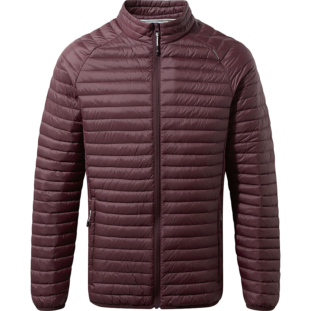 Craghoppers Venta Lite II Jacket S - Dark Wine - Craghoppers Mens Apparel - Apparel & Footwear, Men's Apparel