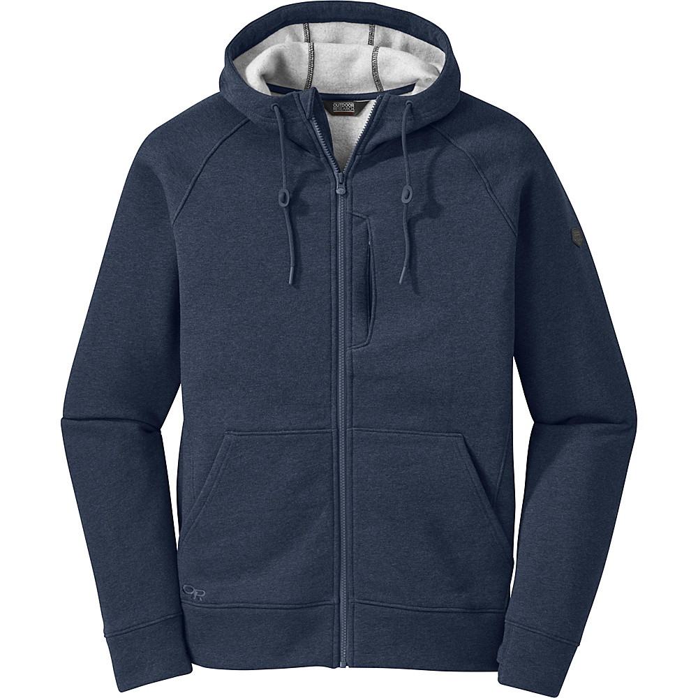 Outdoor Research Mens Revy Hoody M - Night - Outdoor Research Mens Apparel - Apparel & Footwear, Men's Apparel