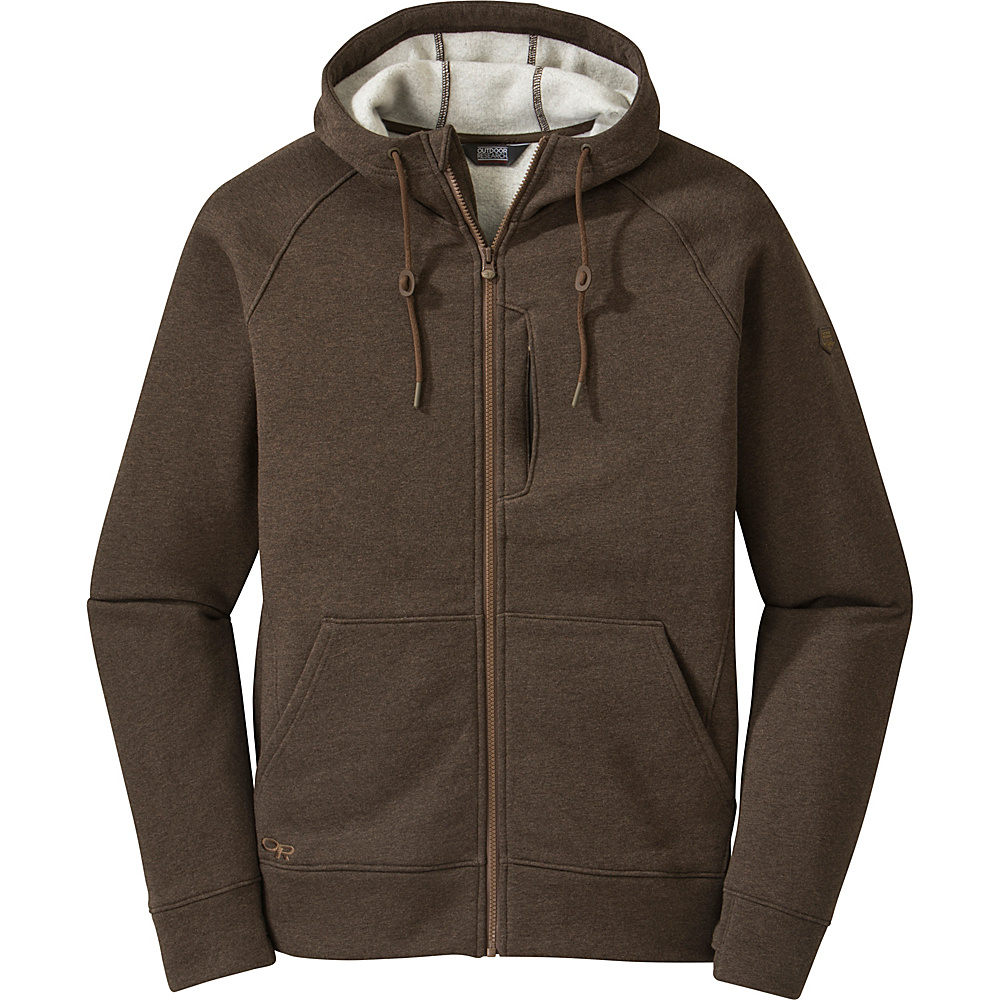 Outdoor Research Mens Revy Hoody M - Earth - Outdoor Research Mens Apparel - Apparel & Footwear, Men's Apparel