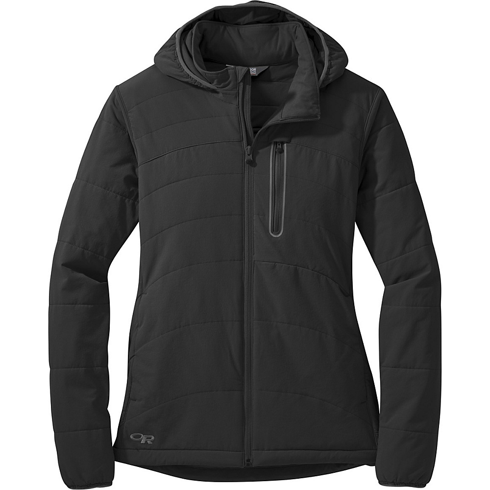 Outdoor Research Womens Ferrosi Hoody Jacket L - Black - Outdoor Research Womens Apparel - Apparel & Footwear, Women's Apparel