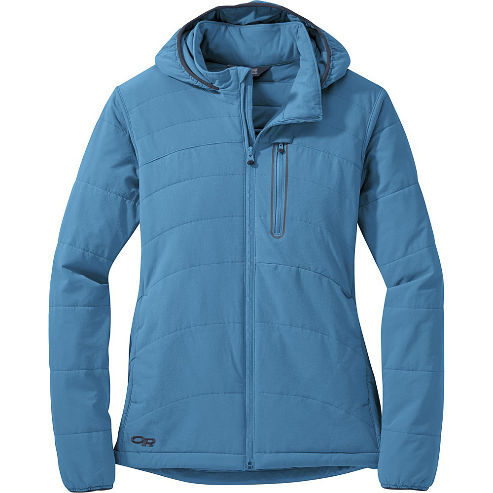 Outdoor Research Womens Ferrosi Hoody Jacket M - Oasis - Outdoor Research Womens Apparel - Apparel & Footwear, Women's Apparel