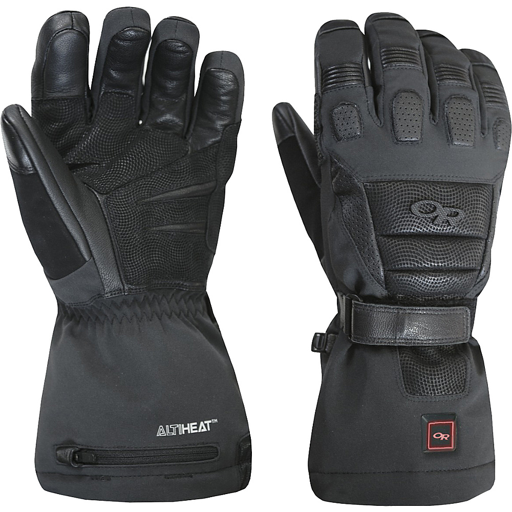 Outdoor Research Capstone Heated Gloves L - Black - Outdoor Research Hats/Gloves/Scarves - Fashion Accessories, Hats/Gloves/Scarves