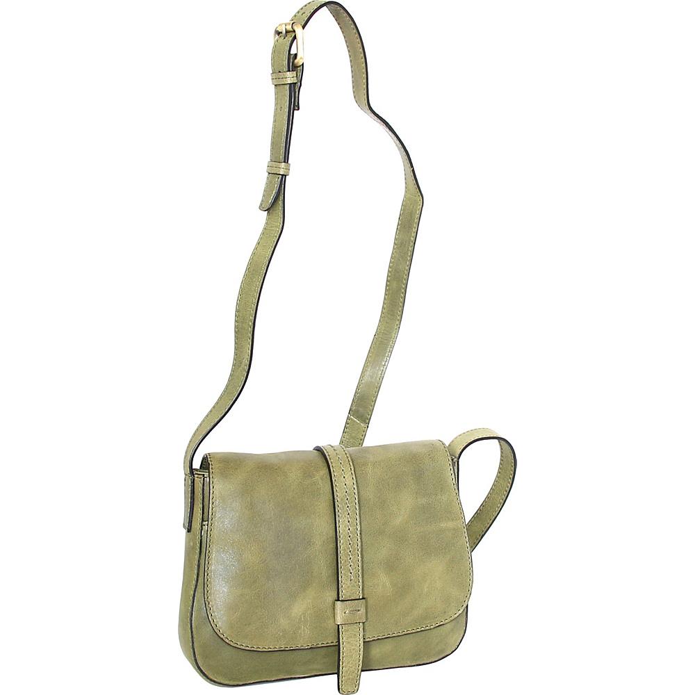 Nino Bossi Bonita Small Crossbody Avocado - Nino Bossi Leather Handbags - Handbags, Leather Handbags