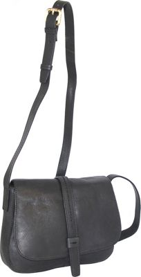 Nino Bossi Bonita Small Crossbody Black - Nino Bossi Leather Handbags