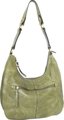 Nino Bossi Delina Hobo Avocado - Nino Bossi Leather Handbags