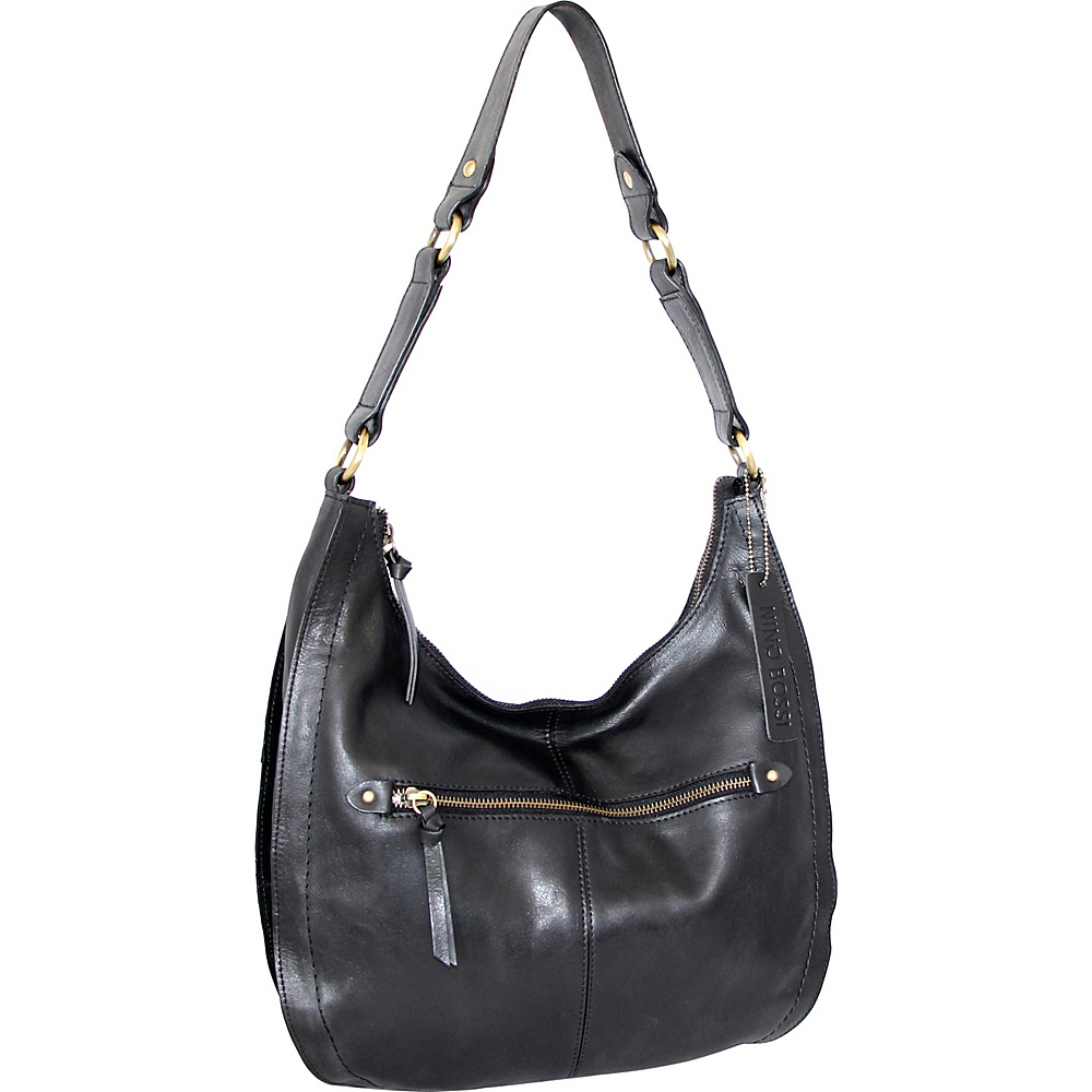 Nino Bossi Delina Hobo Black - Nino Bossi Leather Handbags - Handbags, Leather Handbags