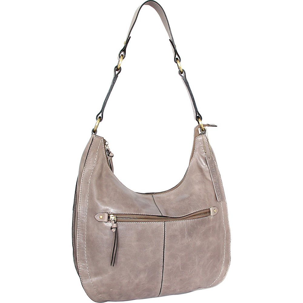Nino Bossi Delina Hobo Stone - Nino Bossi Leather Handbags - Handbags, Leather Handbags