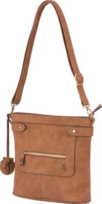 Browning Catrina Concealed Carry Crossbody Brown - Browning Manmade Handbags