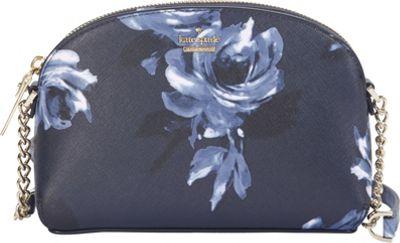 kate spade new york Cameron Street Night Rose Hilli Crossbody Rich Navy Multi - kate spade new york Designer Handbags