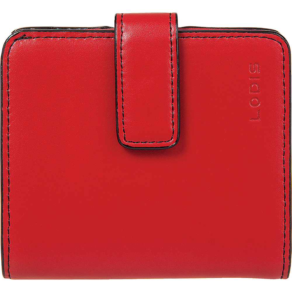 Lodis Audrey Card Case Petite Wallet - Red - Women's SLG, Women's Wallets