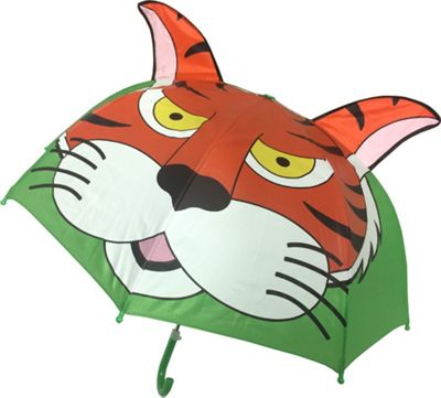 Kingstate Childrens Animal Head Umbrella Tiger - Kingstate Umbrellas and Rain Gear
