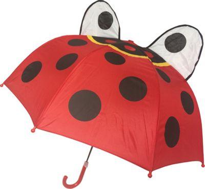 Kingstate Childrens Animal Head Umbrella Ladybug - Kingstate Umbrellas and Rain Gear