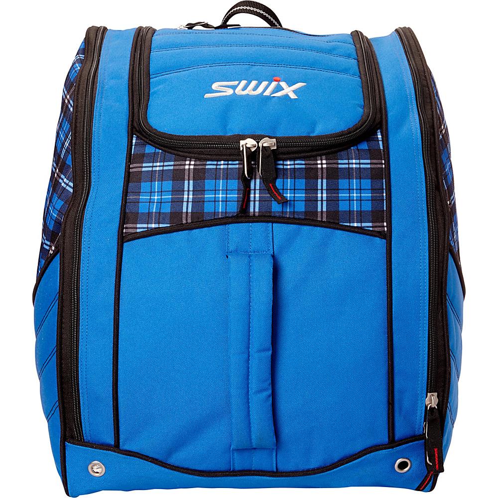 Swix Lo Pro Winston Boot Bag Winston Blue Plaid - Swix Ski and Snowboard  Bags - 51a264f774661