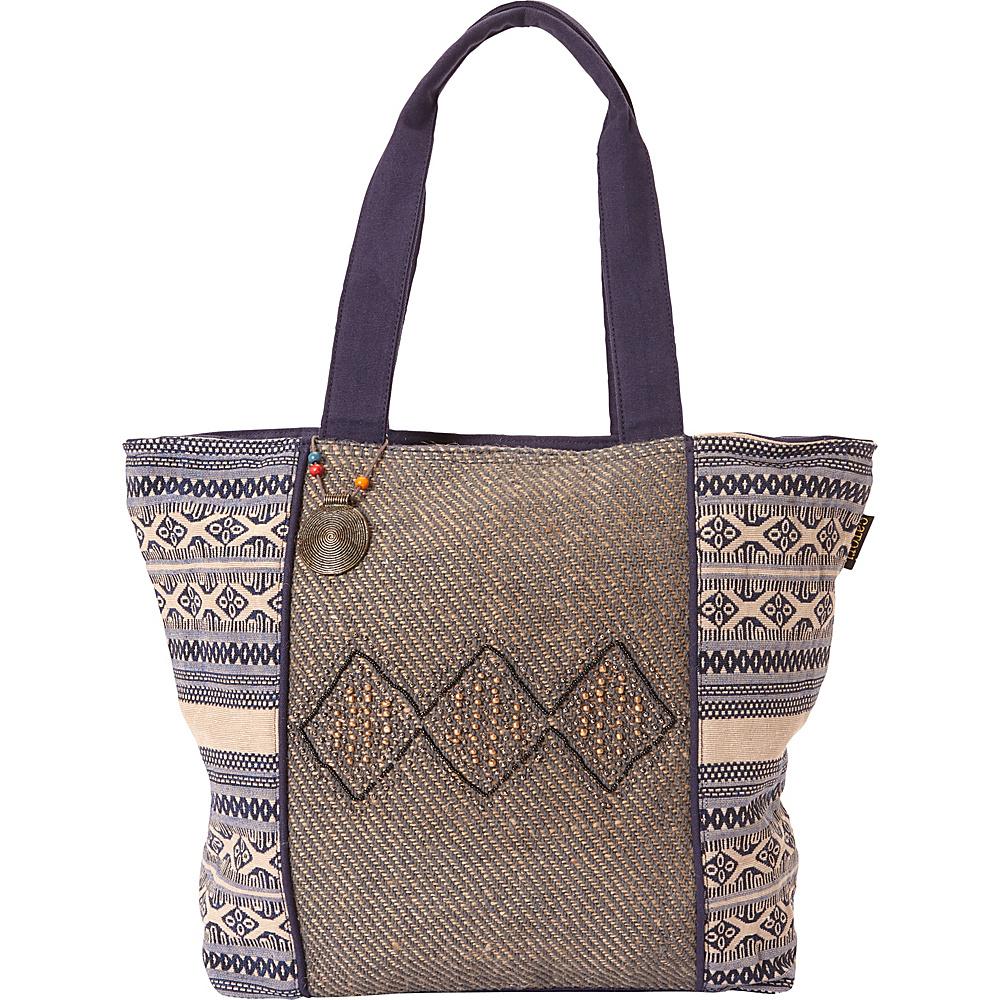 Sun N Sand Catori Parveen Shoulder Tote Multi - Sun N Sand Fabric Handbags - Handbags, Fabric Handbags