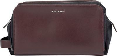 Hook & Albert Leather Toiletry Kit Brown - Hook & Albert Toiletry Kits