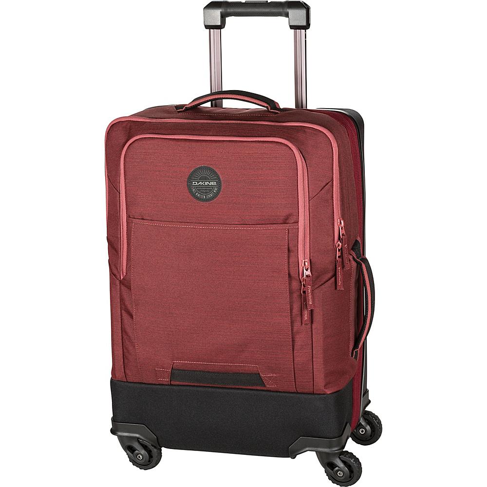 DAKINE Terminal Spinner 40L Checked Spinner Luggage Burtn Rose - DAKINE Softside Checked - Luggage, Softside Checked
