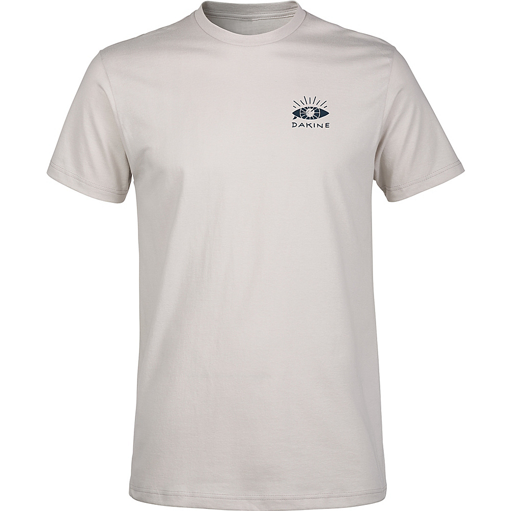 DAKINE Mens Seaboard T-Shirt S - Silver Grey - DAKINE Mens Apparel - Apparel & Footwear, Men's Apparel