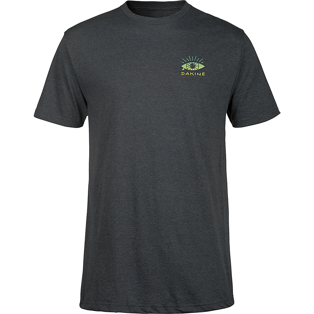 DAKINE Mens Seaboard T-Shirt M - Charcoal Heather - DAKINE Mens Apparel - Apparel & Footwear, Men's Apparel