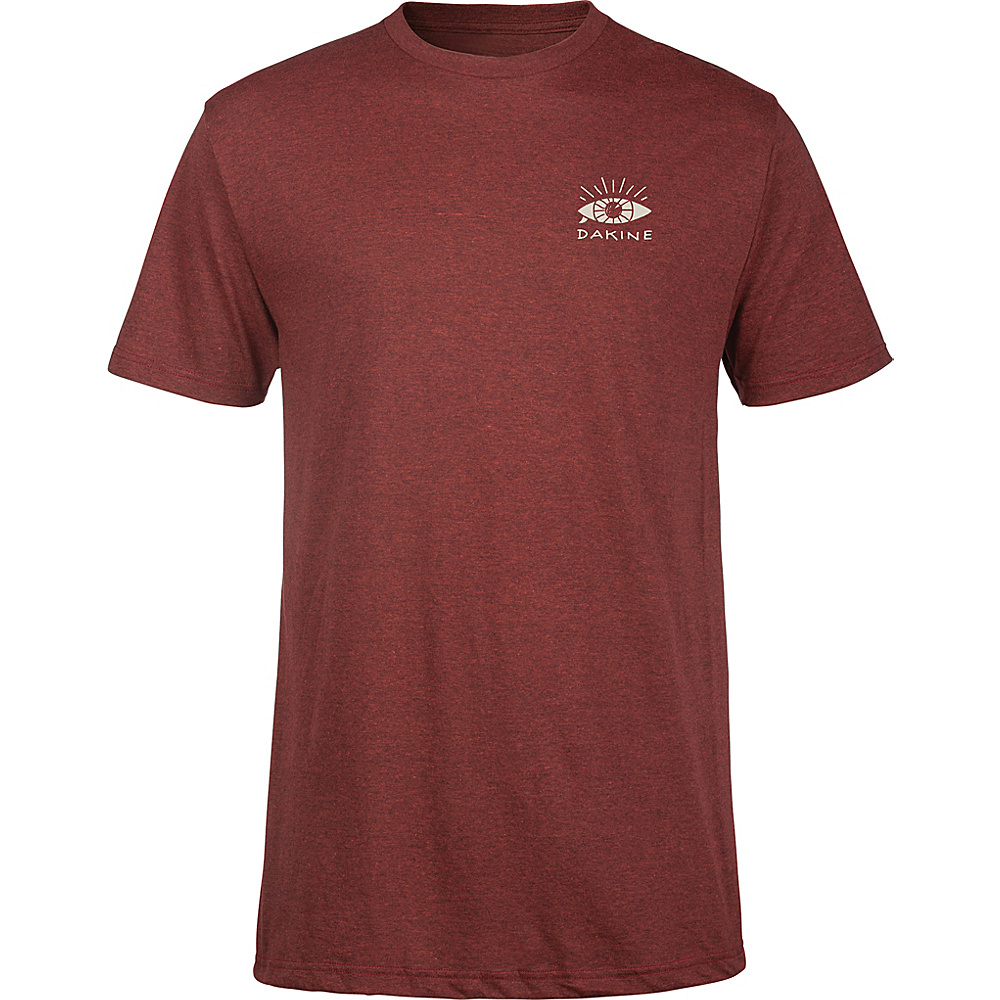 DAKINE Mens Seaboard T-Shirt L - Brick Black Heather - DAKINE Mens Apparel - Apparel & Footwear, Men's Apparel