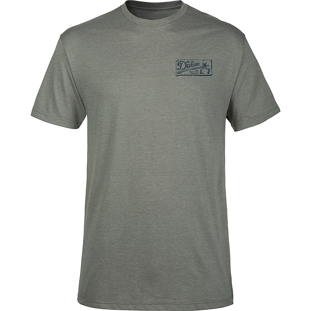 DAKINE Mens Vagabond T-Shirt M - Platinum Heather - DAKINE Mens Apparel - Apparel & Footwear, Men's Apparel