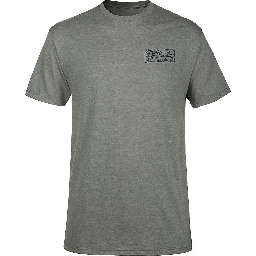 DAKINE Mens Vagabond T-Shirt S - Platinum Heather - DAKINE Mens Apparel - Apparel & Footwear, Men's Apparel