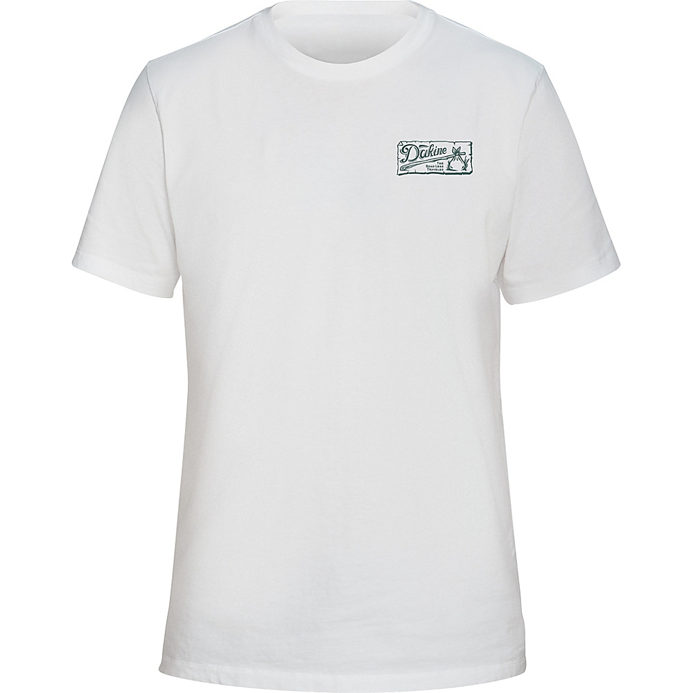 DAKINE Mens Vagabond T-Shirt L - White - DAKINE Mens Apparel - Apparel & Footwear, Men's Apparel