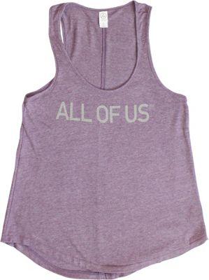 All of Us Womens Vintage Tank M - Vintage Iris - All of Us Women's Apparel