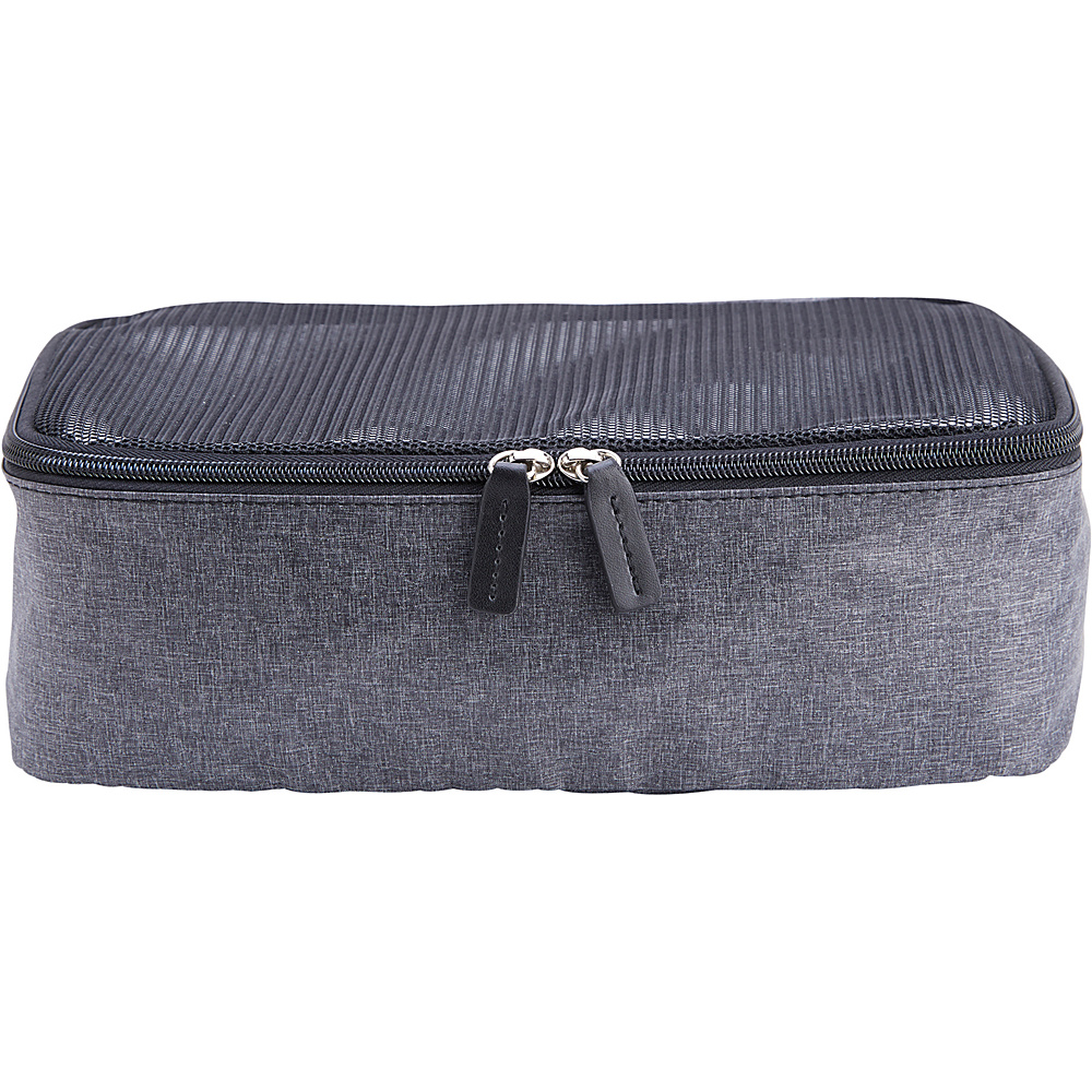 Royce Leather Small Packing Cube Black/Grey - Royce Leather Packable Bags - Travel Accessories, Packable Bags