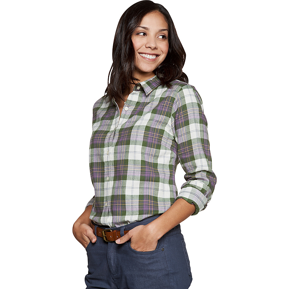Toad & Co Lightfoot Long Sleeve Shirt XS - Kale - Toad & Co Womens Apparel - Apparel & Footwear, Women's Apparel
