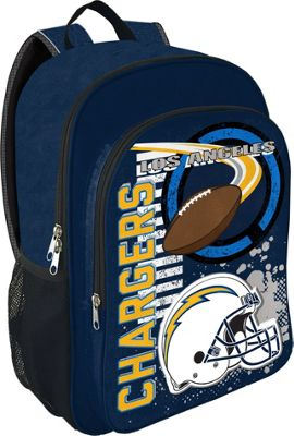 NFL Accelerator Backpack San Diego Chargers - NFL Everyday Backpacks
