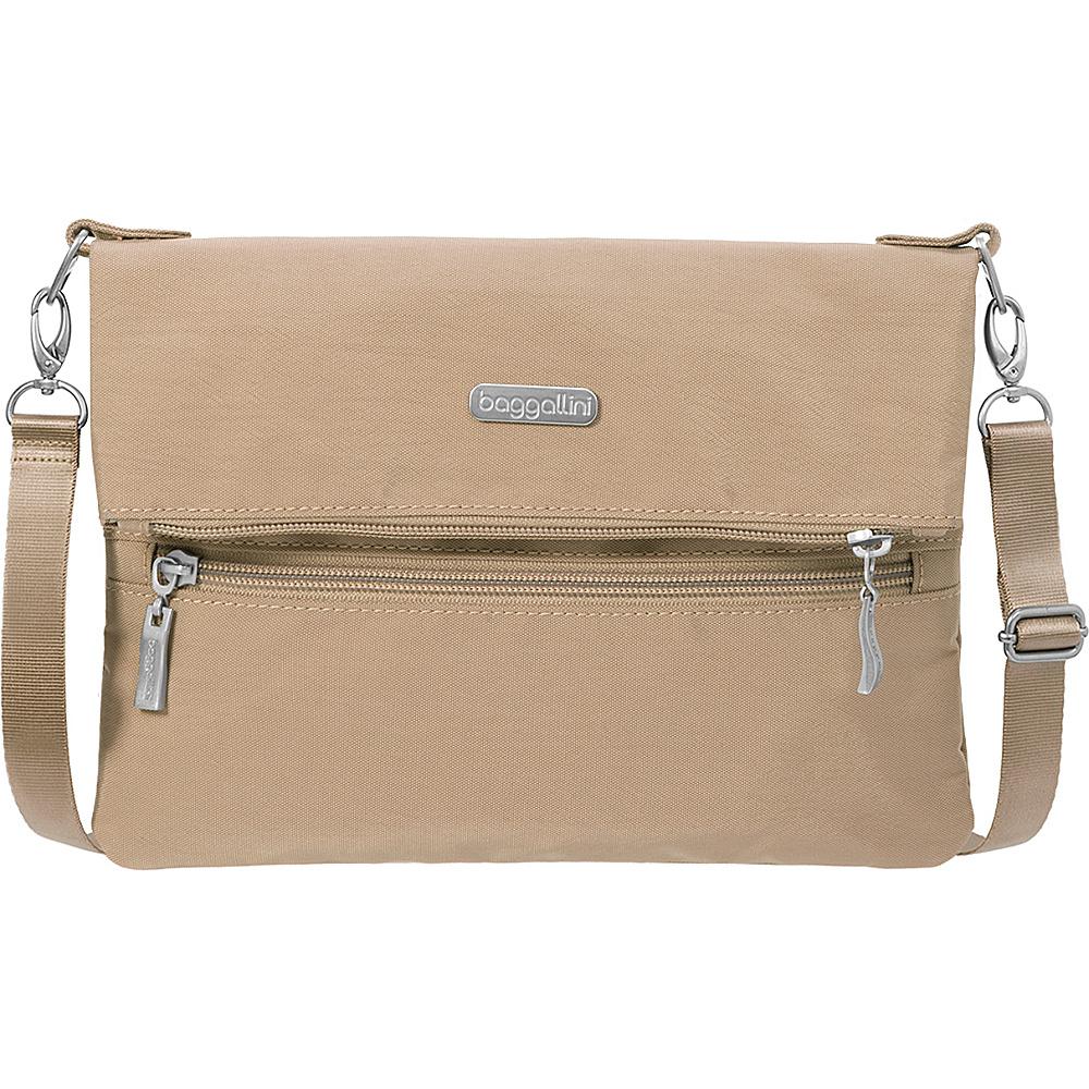 baggallini Flip Zip Crossbody Beach - baggallini Fabric Handbags - Handbags, Fabric Handbags