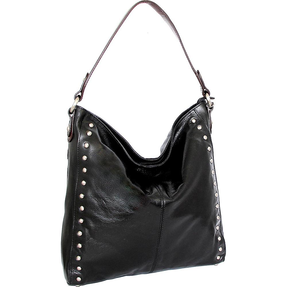 Nino Bossi Kalin Hobo Black - Nino Bossi Leather Handbags - Handbags, Leather Handbags