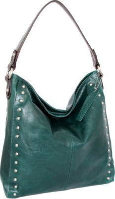 Nino Bossi Kalin Hobo Green - Nino Bossi Leather Handbags
