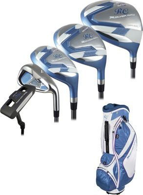 Ray Cook Golf Ladies Golf Silver Ray 2 Complete Set with Bag - Left Handed Periwinkle - Ray Cook Golf Golf Bags