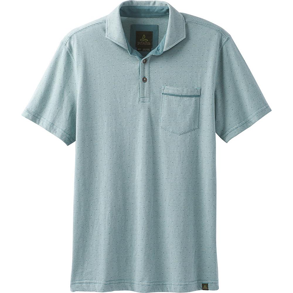 PrAna Ryann Polo XXL - Starling Green - PrAna Mens Apparel - Apparel & Footwear, Men's Apparel
