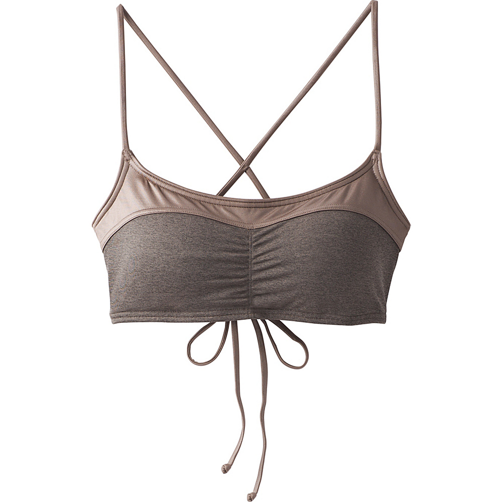 PrAna Makoa Top M - Muted Truffle - PrAna Womens Apparel - Apparel & Footwear, Women's Apparel