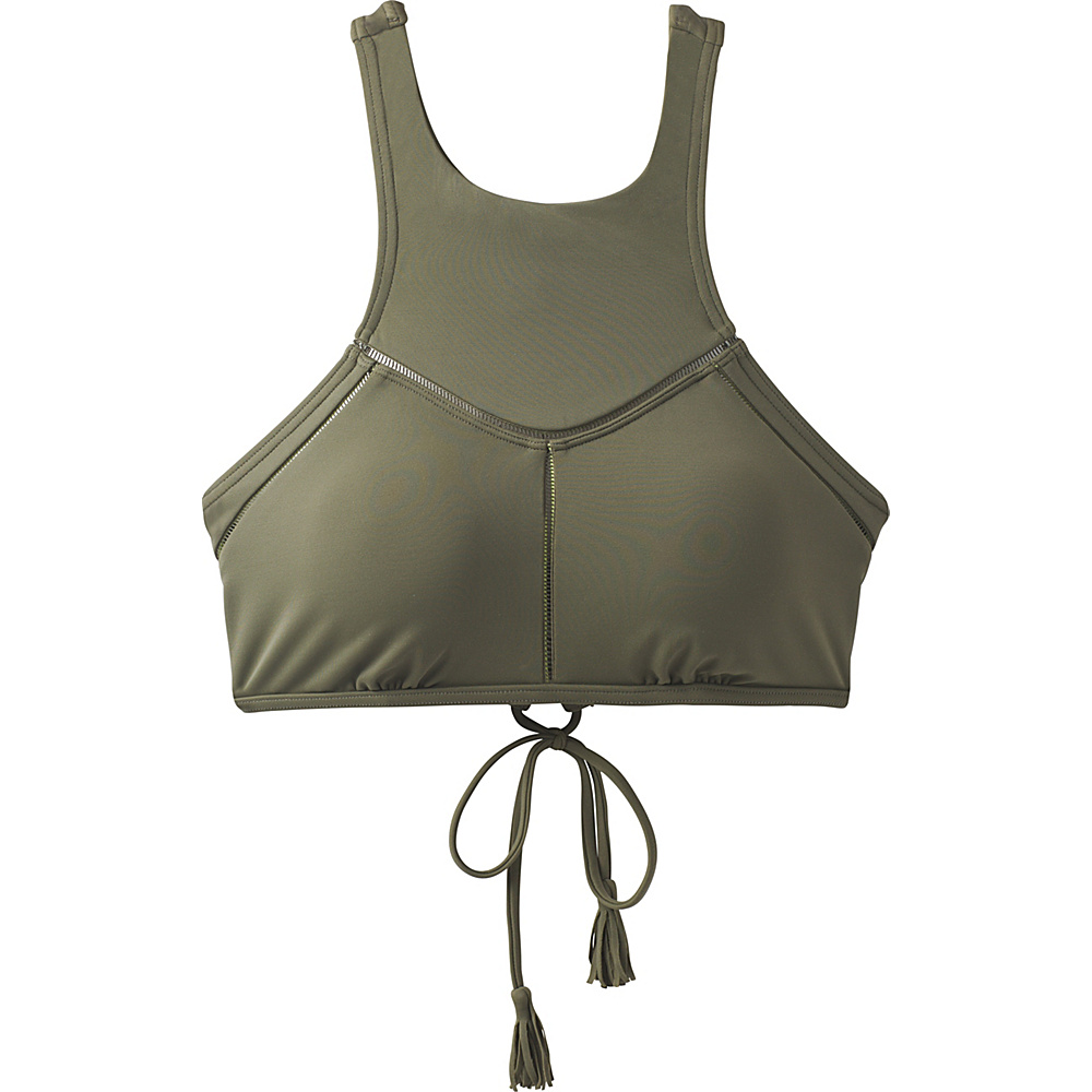 PrAna Azra Top XS - Cargo Green - PrAna Womens Apparel - Apparel & Footwear, Women's Apparel