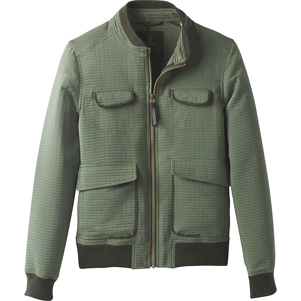 PrAna Minx Bomber Jacket M - Forest Green - PrAna Womens Apparel - Apparel & Footwear, Women's Apparel