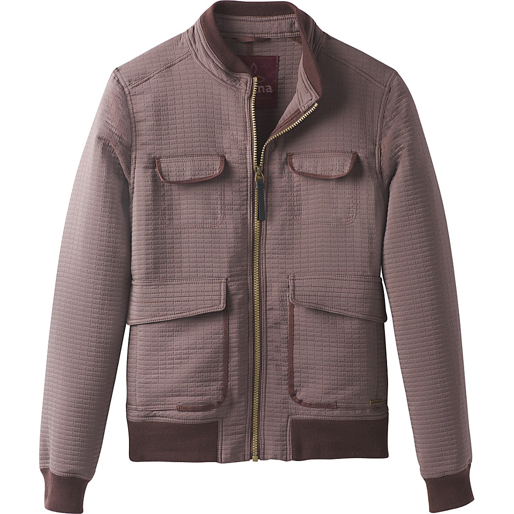 PrAna Minx Bomber Jacket M - Volcanic Plum - PrAna Womens Apparel - Apparel & Footwear, Women's Apparel