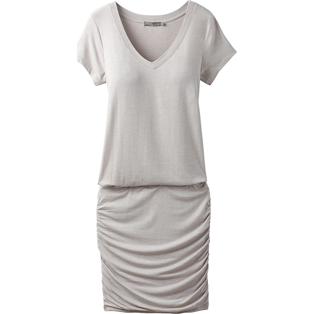 PrAna Foundation Dress M - Light Grey Heather - PrAna Womens Apparel - Apparel & Footwear, Women's Apparel