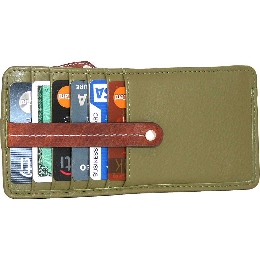 Nino Bossi Carley Card Holder Loden - Nino Bossi Womens Wallets - Women's SLG, Women's Wallets
