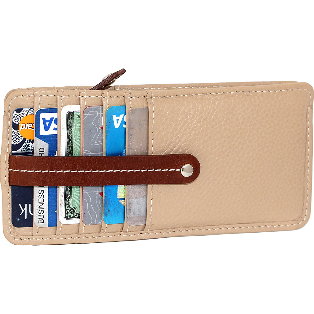 Nino Bossi Carley Card Holder Sand - Nino Bossi Womens Wallets - Women's SLG, Women's Wallets